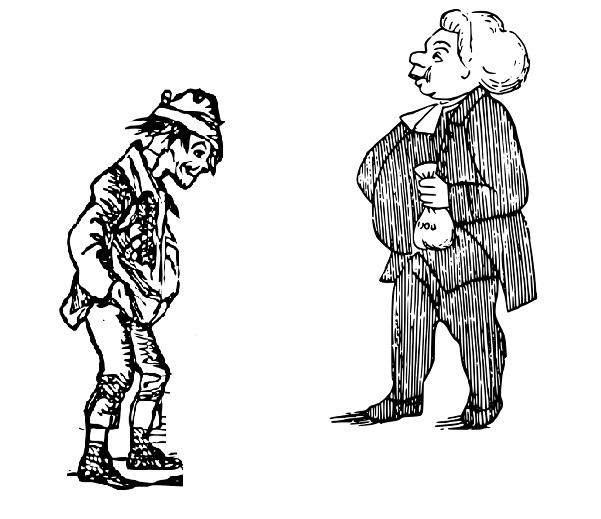 Чем отличается бедный от богатого