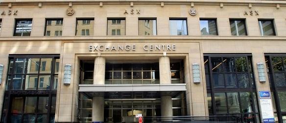 фондовой бирже Австралии