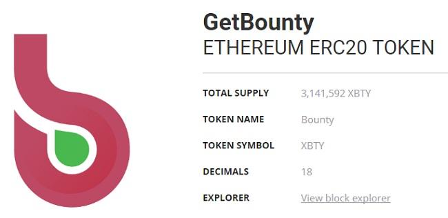 Обзор ICO GetBounty (XBTY)