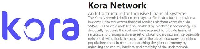 ICO Kora Network - платформа финансовых услуг